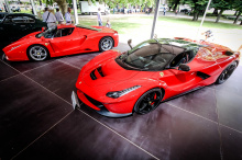 RM Sotheby's полагает, что он уйдет с молотка за € 2.000.000 - € 2.200.000. Также был показан прототип Atalante 1990 Bugatti Type 57 от Carrosserie Bugatti, оцененный в € 2.800.000 - € 3.200.000. Мы любим Atalante Bugatti, и этот, несомненно, преуспе