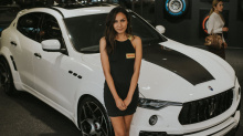 Недавно Novitec показал свою интерпретацию Maserati Levante в Pirelli's P Zero World в Лос-Анджелесе.