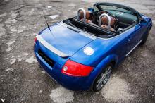 Его идея заключалась в том, чтобы настроить и переработать дизайн Audi таким образом, чтобы первоначальный внешний вид все еще присутствовал, но был определенным образом улучшен.