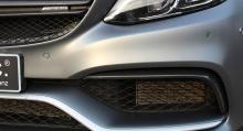 И здесь они представляют свой последний проект - купе Mercedes-AMG C63.