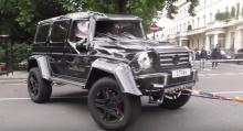 На этой неделе произошла авария Brabus и Toyota Prius на одной из улиц Лондона, в результате которой Mercedes перевернулся. Да, Prius перевернул Brabus 4×4². Они действительно не шутили, когда говорили, что в ближайшем будущем на улицы выйдут электро