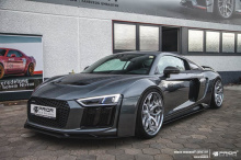 Компания Prior Design только что выпустила комплект Audi R8 V10 Widebody, который был аэродинамически оптимизирован.