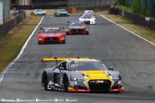 Уилл Стивенс и Маркус Винкельхок пересекли финишную черту первым управляя №2 Audi R8 LMS из бельгийской команды WRT, затем №75 ISR Audi R8 LMS с Клеменсом Шмидом и Филиппом Салакарды за рулем и №17 WRT Audi R8 LMS Стюарта Леонарда и Робина Фрийнса.