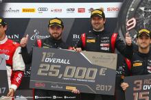 Audi доминировал в третьем раунде Кубка Sprint Cup Blancpain GT, завоевав полный подиум и еще четвертое место, чтобы закрепить победу.