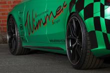 Команда Wimmer закончили свой проект комлектом 20-дюймовых колес BBS. Стоимость этого конкретного преобразования? Всего 500 евро из 30 тысяч.