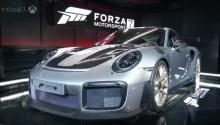 2018 Porsche 911 GT2 RS только что дебютировал на E3 2017 вместе с Forza 7.