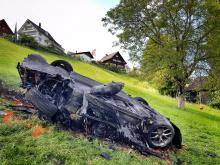 Кажется, команда Gran Tour проводила съемки электрического суперкарв Rimac, когда он загорелся. Источники предполагают, что Ричард Хэммонд был в то время за рулем.