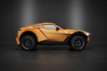 SandRacer является первой производственной моделью Zarooq Motors и поэтому получил небольшую помощь от опытного профессионала - Mansory.