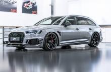 После успеха ABT RS6-R, показанного на прошлогоднем автосалоне в Женеве, ABT решили поработать и с новым Audi RS4.