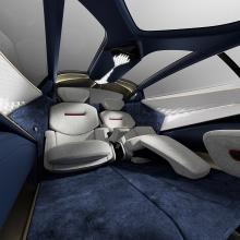 Концепция представляет собой сразу две предстоящие модели Lagonda, которые Aston Martin планирует запустить к 2023 году. Но с момента Taraf акцент немного изменился. Aston Martin перестроил бренд Lagonda и теперь стремится создать роскошную марку с н
