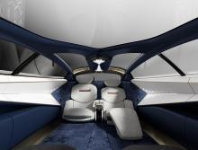 Первая модель Lagonda является предшественником концепции Lagonda Vision, которую планируется запустить в 2021 году.