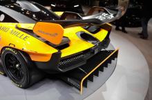 Автомобиль является одной из пяти спецификаций, разработанных MSO, для 500 владельцев, которые обеспечили выпуск эксклюзивного гиперкара. Конструкция сочетает в себе глянцевый корпус из голого карбона с отделкой салона Carbon Black Alcantara. Также в