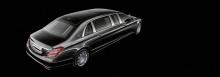 С хорошо известными конструктивными особенностями и длиной 6,5 метров этот автомобиль безошибочно узнаваем. Однако автомобиль получил обновленную решетку радиатора с вертикальными распорками, напоминающкю Maybach 6, которая добавляет уверенности и ст