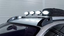 Передние и задние крылья были модифицированы, чтобы увеличить ход подвески, была установлена новая выхлопная система, а сама подвеска была обновлена, чтобы позволить Bentley стать преодолевать практически любые препятствия на своем пути. Этот Contine