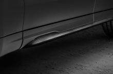 Он использует двойную переднюю поперечную подвеску и многорычажную заднюю подвеску. Автомобиль получил более агрессивный режим управления Corsa для максимальной производительности и новую пневматическую подвеску.