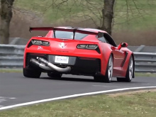 Теперь Chevrolet вернулся в «Зеленый Ад» с более рабочим прототипом ZR1.