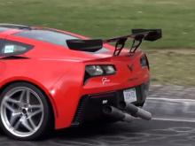 2019 Chevrolet Corvette - превосходная машина, постоянно устанавливающая рекорды. Он разгоняется до сотни всего за 2,8 секунды. Новый ZR1 уже победил могучий Ford GT в VIR, но GM явно имеет свои планы на гораздо больший выигрыш. Мы видели ранние тест