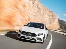 Немецкий автопроизводитель объявил, что первый в истории седан A-Class дебютирует на следующей неделе на Пекинском автосалоне 2018.