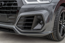 Трехлитровый бензиновый двигатель с турбонаддувом в SQ5 получает увеличение мощности с 354 л.с. до 425 л.с. Также возможно увеличение крутящего момента на 10%, до 550 Нм. Повышение мощности достигается с помощью блока ABT Engine Control (AEC) и прогр