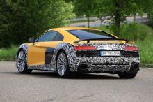 Фанаты Audi R8 вспомнят последний раз, когда мы видели круглые наконечники. На Audi R8 GT.