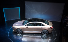 Auto China 2018 - это место где были представлены все новинки последнего времени, включая и эту - Mercedes-Benz A-Class L Saloon.