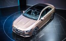 Последним дополнением к линейке является седан A-Class, который будет доступен по всему миру, но был представлен в Китае в форме длиннобазного автомобиля.