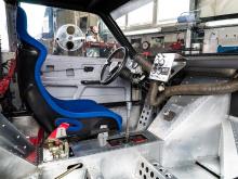 «Из всех автомобилей, разработанных Bergmann, 1987 Pikes Peak Golf II был самым радикальным», - сказал главный механик Йорг Раучмауль. «Это абсолютное чудо, что Бергман и его команда смогли развить и построить такого зверя всего за шесть месяцев». Оп