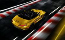 В стандартной комплектации, AMG GT S Roadster оснащен 19-дюймовыми дисками спереди и 20-дюймовыми сзади.