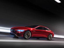 «Возможно, вы помните концепцию GT из Женевы в прошлом году», - сказал Моерс. «У него был двигатель V8 спереди и электрический двигатель на задней оси. Все в разработке, и будет выпущено в один прекрасный день». Моерс сказал, что Mercedes-AMG разрабо