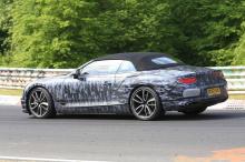 Появились фотографии, показывающие тестирование Bentley Continental GTC на Нюрбургринге в Германии.   Совершенно новое третье поколение Continental будет выпущено в течение следующего года. Эти фотографии дают нам возможность взглянуть на GTC во врем