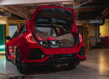 Honda UK продемонстрировала новую концепцию Civic Type R Pickup Truck на SMMT Test Day, и, как кажется, команда завоевала внимание всех на шоу!
