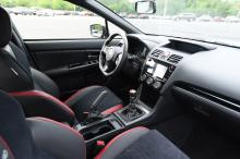 Первая, WRX, поставляется с эксклюзивной 6-ступенчатой механической коробкой передач и имеет стильный интерьер цвета Cool Gray Khaki с элементами цвета Crystal Black Silica, а также складные наружные зеркала. Автомобиль получил 18-дюймовые колеса в ч