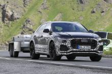Классический высокопроизводительный универсал Audi очень мало отличается от формулы, которую мы ожидаем. Audi RS6 Avant теперь тестируется вместе с горячо ожидаемым Audi RS Q8. Тестируемый RS6 получил значок 55 TFSI, но овальные выхлопные трубы с тов