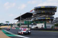 Результат не вызывал сомнений, так как автомобиль номер 8 с самого начала вел гонку.