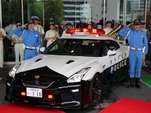 Детали о человеке, который щедро пожертвовал GT-R, не разглашаются, но, очевидно, он богатый парень, который почувствовал, что его местное полицейское управление нуждается в чем-то очень крутом. Миссия выполнена.