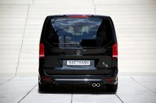 Кроме того, автомобиль с гордостью демонстрирует алюминиевые 19-дюймовые колеса «VEYKKA» с шинами 245/45R19 от VANSPORT.DE.
