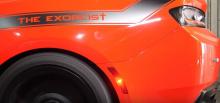 Автомобиль получил сумасшедший пакет Exorcist, который в полной мере соответствует названию машины - Dodge Challenger SRT Demon.