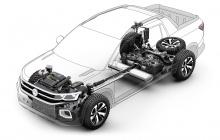 Концепция Tarok получает 1,4-литровый четырехцилиндровый двигатель TSI объемом 1,4 л, соединенный с шестиступенчатой автоматической коробкой передач и систему полного привода 4MOTION. Наслаждайтесь!