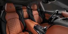 Ghibli и Quattroporte получают отделку блестящим деревянным шпоном Rovere, в то время как Levante - глянцевую металлическую отделку. Maserati отметил, что пакет Edizione Nobile будет доступен для всей линейке Maserati, за исключением GranTurismo и Le