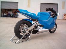 Турбинный супербайк MTT - $ 175 000