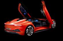 Кроме того, эксклюзивный суперкар дебютирует в уникальном флуоресцентном оранжевом покрытии.
