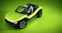 Volkswagen of America с гордостью сообщает, что I.D. BUGGY будет показан на мероприятии Pebble Beach Concours dElegance во время Недели автомобилей в Монтерее.