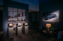 Автомобиль, демонстрирующий выдающийся британский стиль в центре Москвы, несомненно, сумел привлечь внимание даже скептиков бренда. Мероприятие состоялось в башне Мосгорсуда, которое стало идеальным местом для утонченной красоты Fluing Spur.