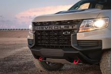 Команда Chevrolet представляет новую концепцию среднеразмерного грузовика Colorado.
