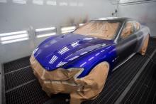 Трудно поверить, что GranTurismo существует с 2007 года. Он дебютировал на Женевском международном автосалоне 2007 как четырехместное двухдверное купе с дизайном Pininfarina.