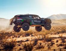 Atlas Cross Sport R оснащен 2-литровым четырехцилиндровым двигателем, изначально разработанным Volkswagen Motorsport для использования в программах WRC ad Rallycross.