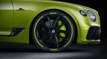 Вышивка Pikes Peak на подголовниках сидений, накладки на педали Pikes Peak и эксклюзивные чехлы для акустических систем с черным анодированным покрытием и отделкой радием еще больше повышают привлекательность интерьера. Роскошный салон Continental GT