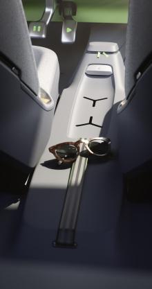 Что касается интерьера, дизайнеры VW использовали минималистичный подход и оснастили ID. BUGGY простыми в обращении функциями и водонепроницаемыми материалами.