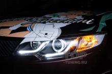 Доработка фар Kia Cerato 2