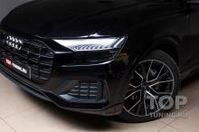 Тюнинг ателье TOP-TUNING Москва, оказывает услуги по дооснащению автомобилей AUDI по установке фирменных сеток-фильтров из эластичного пластика